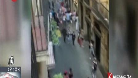 西班牙:巴塞罗那汽车撞人袭击事件 一名香港游客受轻伤 170818