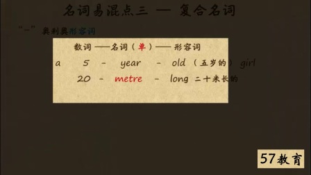 10.名词易混点(三)