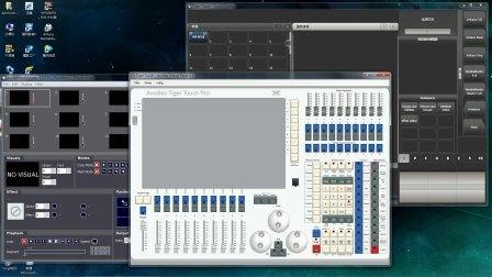 老虎控台小功能:1.控台上显示服务器视频