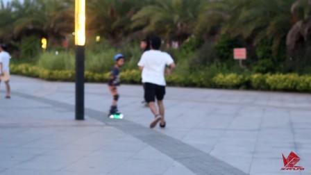 【小k】论漂移板滑行姿势的重要性