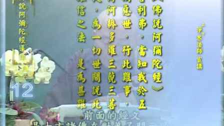 佛說阿彌陀經導讀 第12集 - 淨土教觀學苑 淨界法師