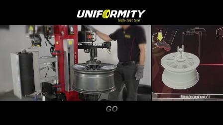 科吉-UNIFORMITY 世界第一台轮胎拆装与诊断一体机器