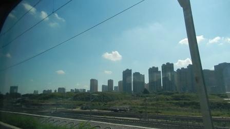 哈尔滨西站-南二环桥下站动车组列车沿途录制铁路街景