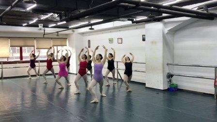 丰迪芭蕾成人班--初中级衔接班暑期课堂记录