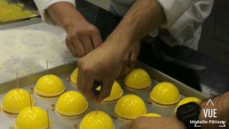 【Médaille美戴】高阶法国甜点 柠檬慕斯