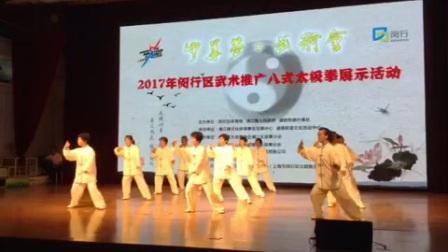 2017年8月21日闵行区吴泾镇八式太极拳比赛视频