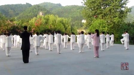 石泉县太极拳协会--《赵堡太极拳75式》晨练 (教练 武德智)