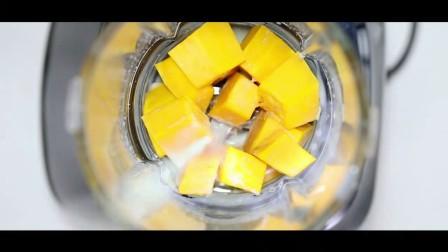破壁机鲜榨南瓜汁功能展示
