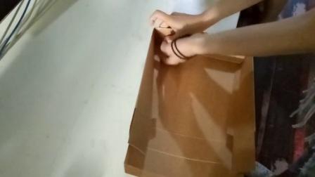 牛皮纸月饼盒盖子