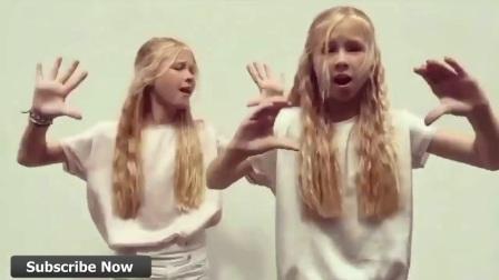 两个可爱萝莉齐舞 Iza And Elle July 2017❤