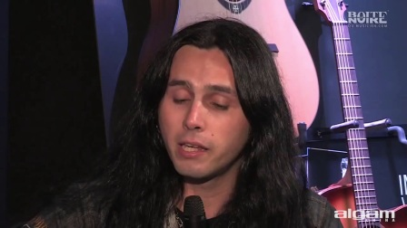 Gus G. interview - Hellfest 2012 - English (La Boite Noire)