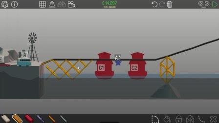 《桥梁建筑师polybridge》03 我已经会玩了