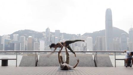 飞行瑜伽魔术在香港 AcroYoga Magic in Hong Kong