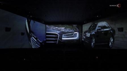 """一汽-大众奥迪的""""Land of Quattro""""ScreenX版商业广告"""