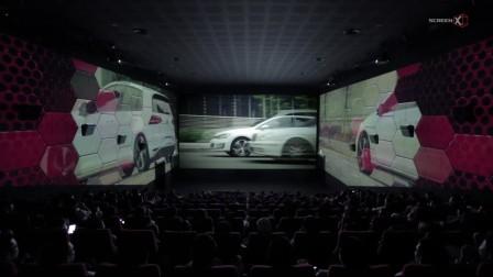 """大众汽车的""""The New Golf GTI""""ScreenX版商业广告"""