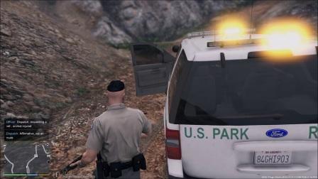 LSPDFR日常执法第十天-森林警察-横冲直撞的油罐车跟奇怪的钓鱼人