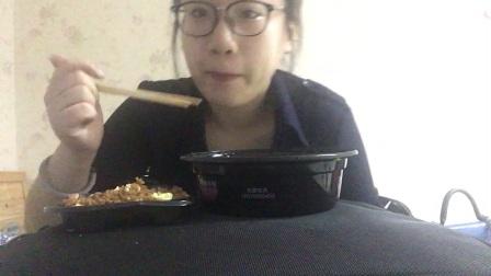 麻辣香锅+酱油炒饭 小雅吃播~中国吃播~ 吃播~