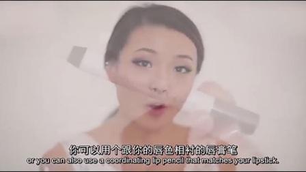 新娘短发造型魅力复古新娘妆2化妆步奏