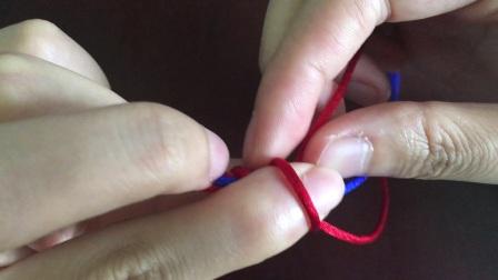 春树下手作 包芯金刚结 包芯金刚结编法教程 手工DIY手绳手链教程
