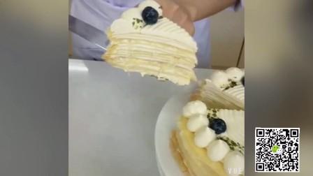 蛋糕 甜品 西点 教程 美食 千层蛋糕 抹茶蛋糕卷 妞妞国际西点学校15711955852