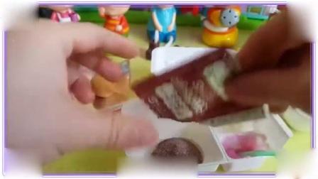 爆笑虫子与哆啦a梦一起做饼干,大象巴巴 佩格和小猫 猪猪侠