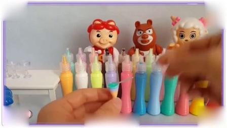 芭比娃娃与爱探险的朵拉一起制作冰淇淋,叶罗丽宝贝 航海王
