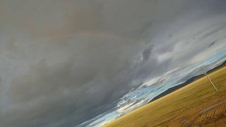 色林措彩虹