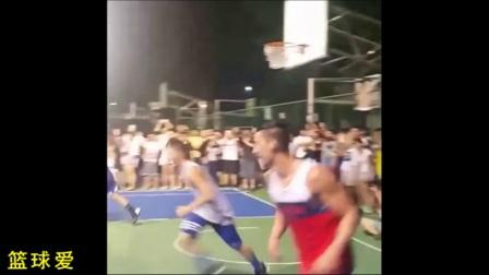 林书豪台大篮球场斗牛!暴扣、三分样样有!