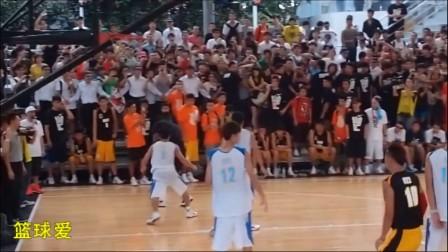 詹姆斯2011年到访上海 打全场篮球!非常激烈!
