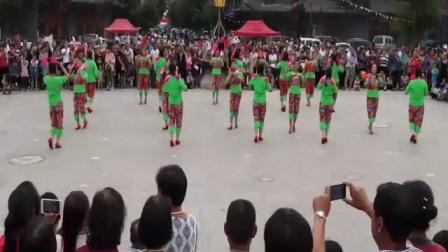 """黎城县老体协舞蹈二队参赛山西特色广场舞""""会哥哥""""获得二等奖"""