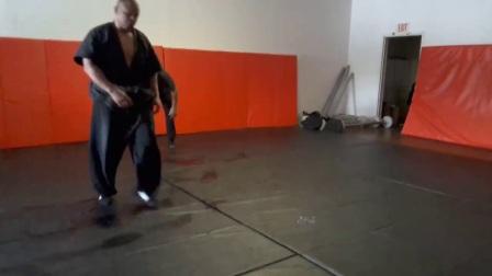 美国師傅 Omar Harvin 中国式摔跤 演示