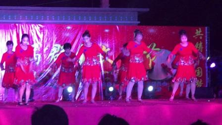 葫芦岛市南票区台集屯镇2017群众文化节英房子村舞蹈《纳西情歌》