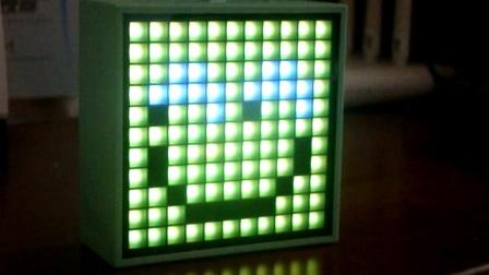 TimeBox-mini 点阵式 像素蓝牙音箱