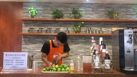 番禺誉世晨奶茶培训学校-誉世晨培训学校教学制作金桔柠檬绿茶