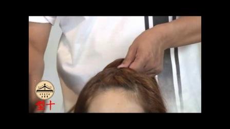 盘发扎发拉发与辫子手法《型十》二