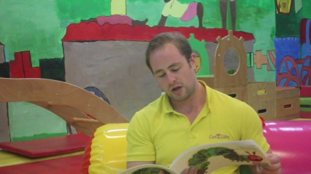 Can Cubs story time - The very hungry caterpillar好饿的毛毛虫英文绘本故事