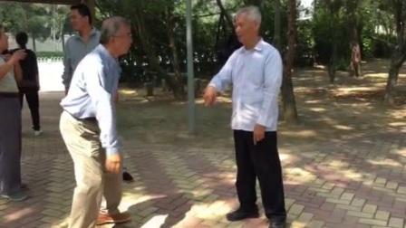 北京工体老六路日常活动-宋培阁师父给弟子们喂劲花絮