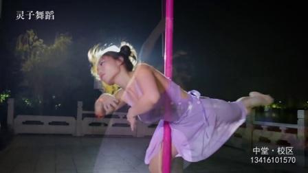 中堂灵子舞蹈连锁学校 钢管舞 高清视频