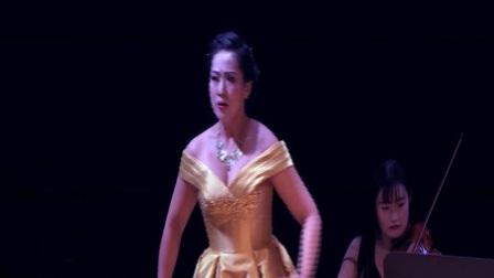 卢思嘉演唱咏叹调《你别颤抖》,选自莫扎特的歌剧《魔笛》