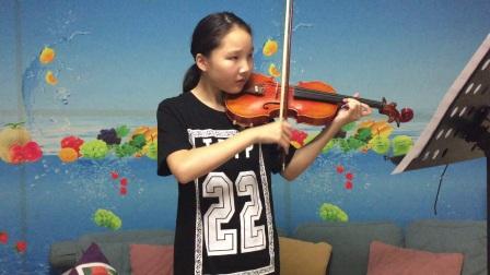 小提琴《草原之夜》