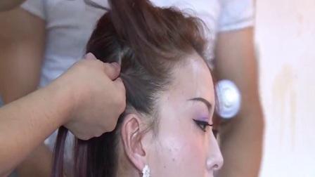 美发视频  蒙眼盘发  带你领略蒙眼盘发的魅力