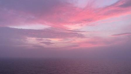 海上日出好美