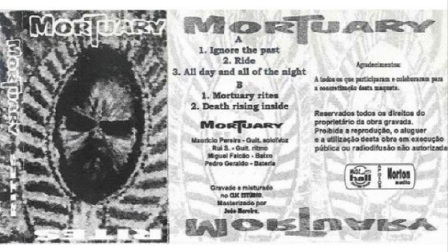 MORTUARY - All Day And All Of The Night
