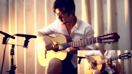 小蒋吉他 托雷士和弗拉门戈二重奏  Rain jesse cook
