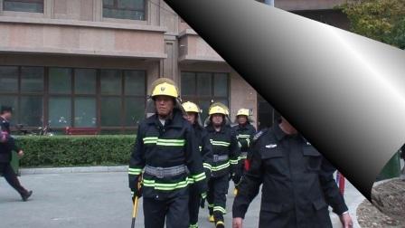 中润物业文海溪畔微型消防站灭火演练