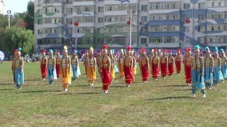 华电能源公司(2017)职工综合运动会哈热女职工跳印度舞