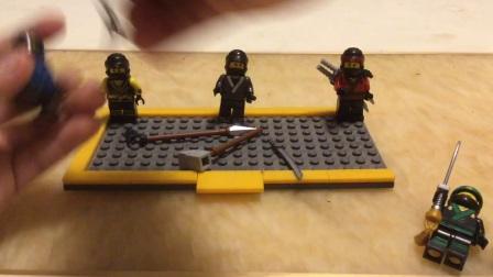 乐高牌子LEGO乐高幻影忍者大电影人仔