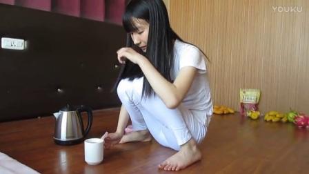 妮子生活视频亲手做红糖柠檬茶_高清