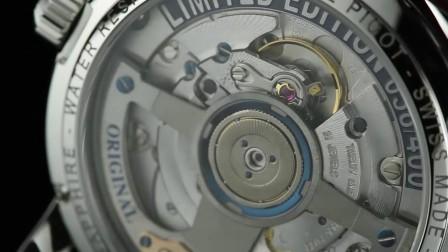 柏高 梦想家系列 全日历月相表 机械男表 棕色 皮带P0459.SG.1232.5601