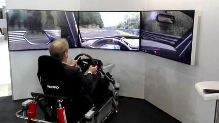 2017上海车展-德国赛车手驾驶Z4 GT3跑纽北
